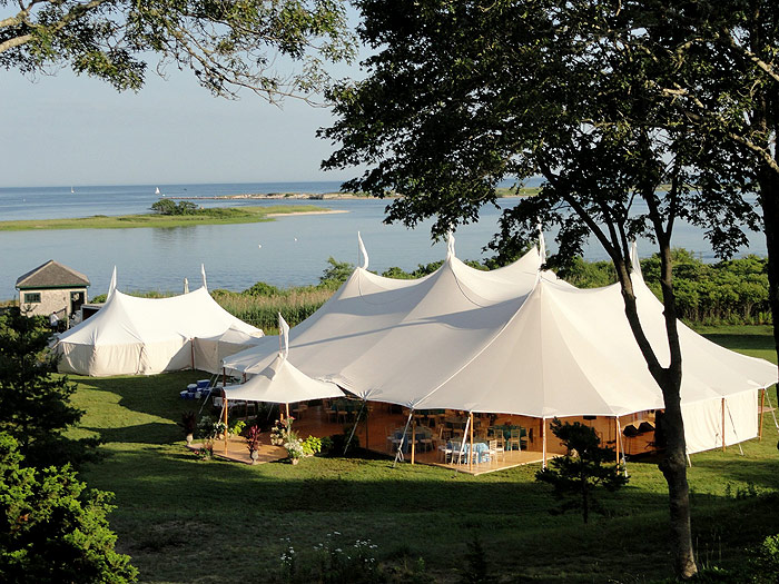 Event Tent on Lakeshore