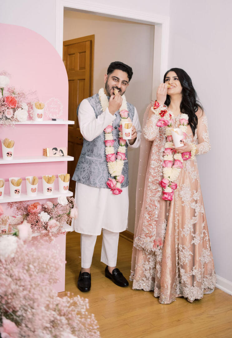 Blush Engagement Party Featured on Green Wedding Shoes