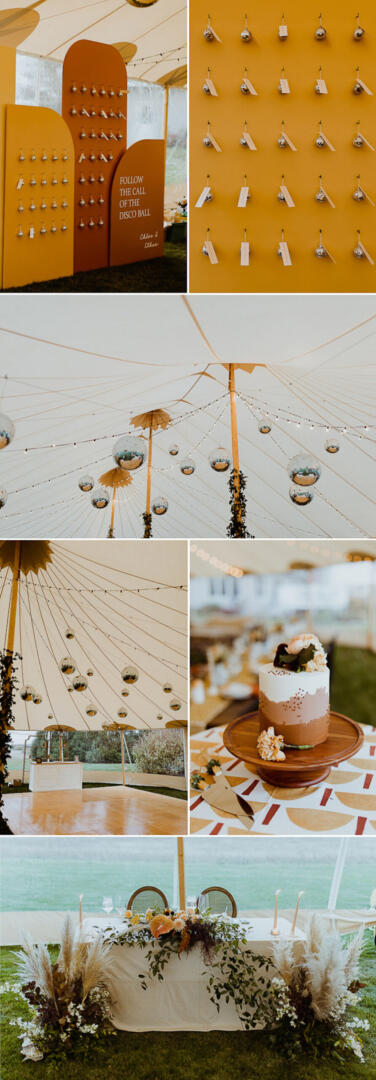 Wes Anderson Inspired Wedding Featured on Junebug Weddings