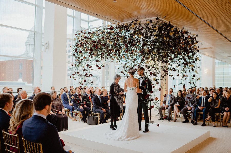 Creative Wedding Ceremony Seating Featured on Green Wedding Shoes