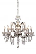 Chandelier - Royal Crystal, 12 light (medium)