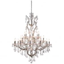 Large Royal Crystal Chandelier