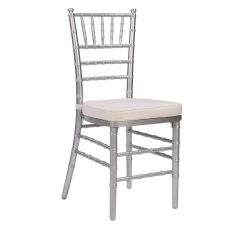 Silver Chiavari Wedding Event Party Chair