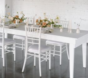 White Farm Harvest Table
