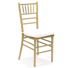 Gold Chiavari Wedding Event Party Chair